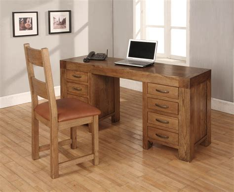 santana oak computer desk dressing table