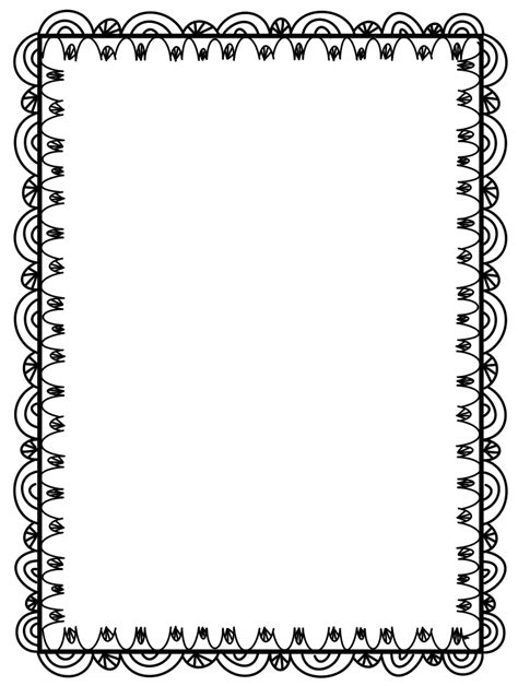 free doodle border the creative chalkboard fact and opinion freebies