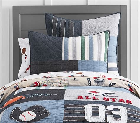 Pottery Barn Sports Quilt by Sullivan Sports Quilt Pottery Barn