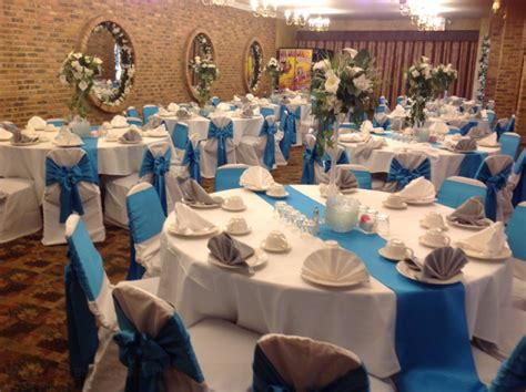 Banquet Decorations by Picture Gallery Decorated Interior For Wedding