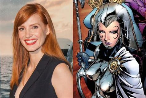 film marvel jessica jessica chastain confirms villainous x men dark phoenix