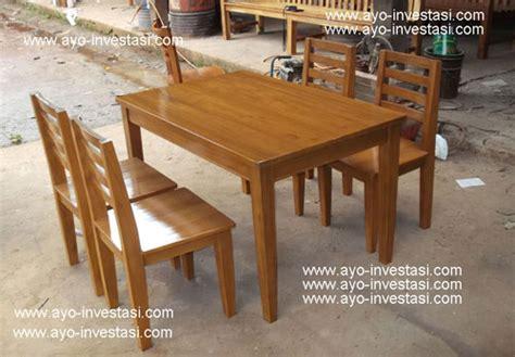 Makan Meja Restoran Angke kursi kayu pinus berbagai macam furnitur kayu