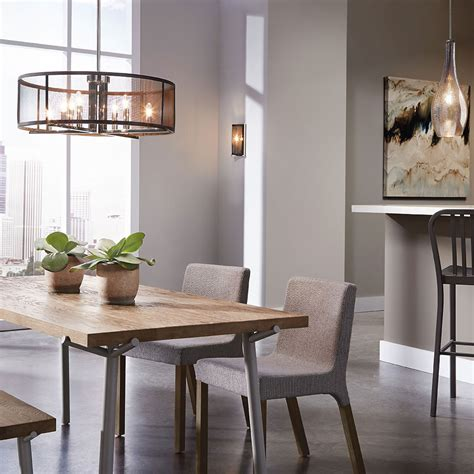 pendant lighting fixtures for dining room dining room lighting gallery from kichler