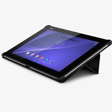 Style Cover Stand For Xperia Z2 by Sony Style Cover Stand For Xperia Z2 Tablet Verizon Wireless