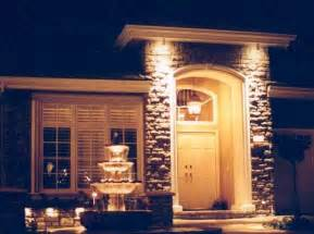 outdoor entry lights the green award winning landscape design and