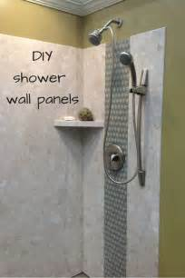 dusche verkleidung kunststoff diy shower wall panels can a dramatic look this