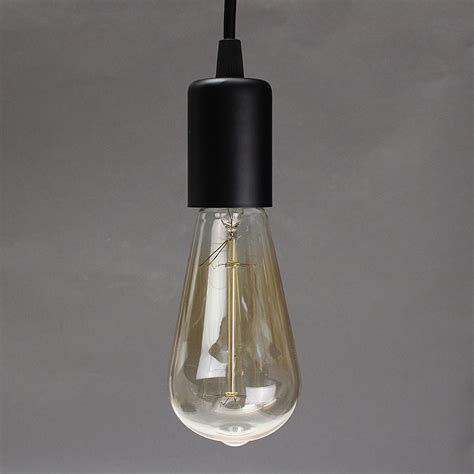 Single Pendant Light Fixture E27 Single Home Ceiling Pendant L Light Bulb Holder Socket Hanging Fixture 1 2m Alex Nld