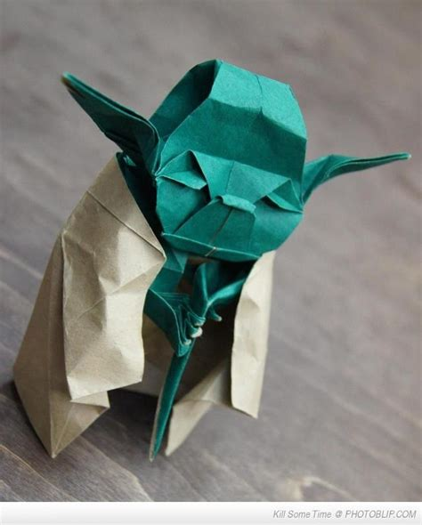 origami yoda paper creations awesome war