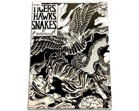 tattoo flash books canada tigers hawks snakes tattoo flash book by horimouja