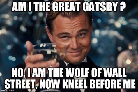 Wolf Of Wall Street Memes - leonardo dicaprio cheers meme imgflip