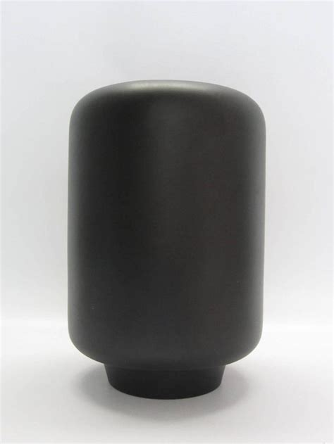 Gu Cci Ceramic tom ford for gucci matte black ceramic vase signed