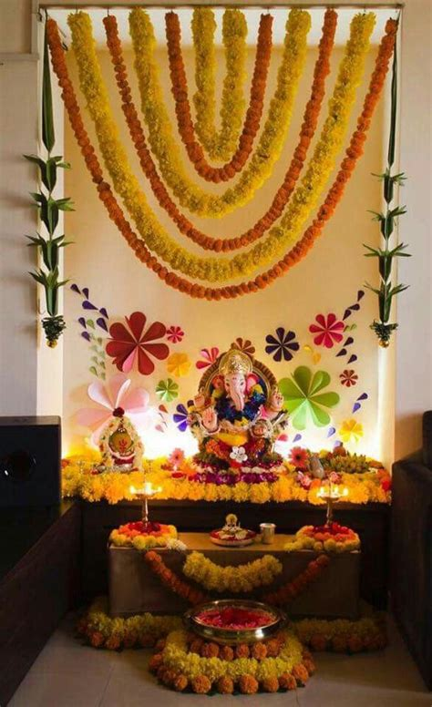 home decoration for puja 145 best ganapati decoration images on pinterest
