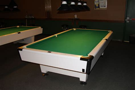 How Much Are 9 Commercial Kasson Pool Tables Worth