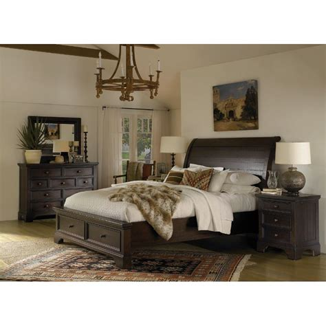 Bedroom Furniture Sets King Bayfield 6 King Bedroom Set