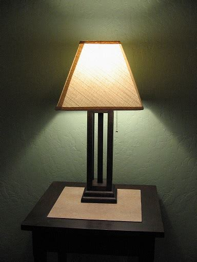 mission style bedroom lamp buildsomethingcom
