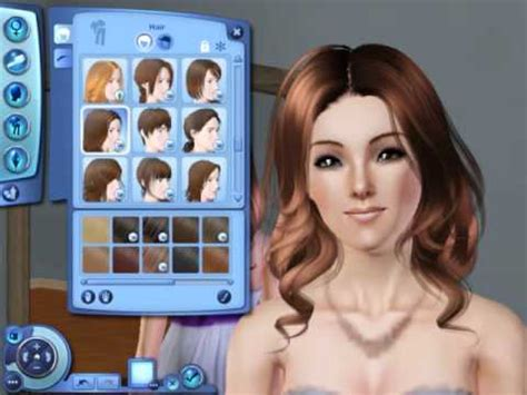 sims 3 cc hair color the sims 3 my cc hair youtube