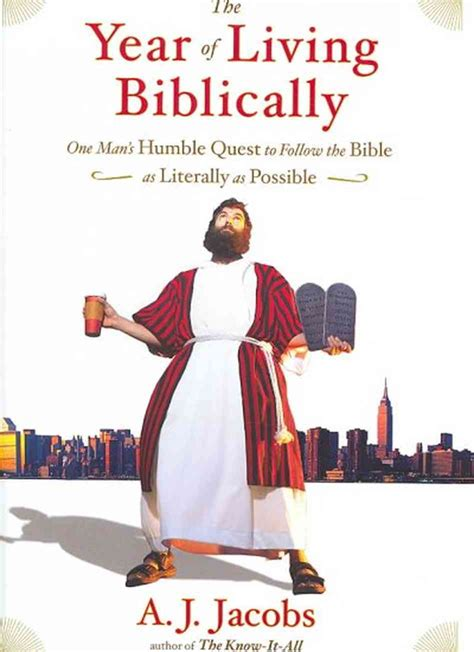 the year of living book review the year of living biblically by a j jacobs books a true story