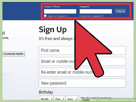 how to create a fan page how to create a fan page 9 steps with pictures