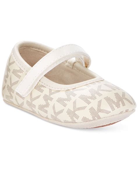baby michael kors shoes michael kors baby mara ari infant shoe tinley