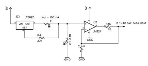 how to measure resistance in a circuit current source measuring resistance of a wire with an adc electrical engineering stack exchange