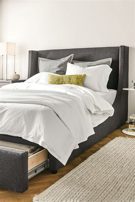 bed with hidden storage marlo bed with storage drawer the o jays hidden storage