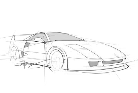 ferrari sketch quick pencil sketch of a ferrari f40 scottdesigner