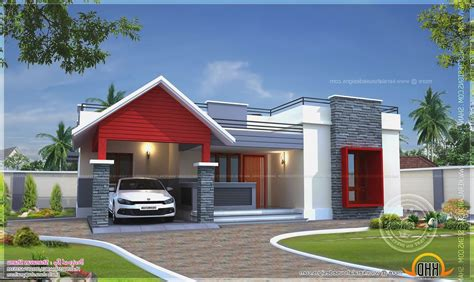 one floor homes modern one storey house modern house
