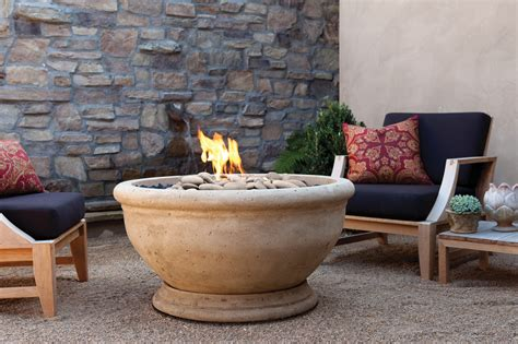Outdoor Gas Pit Bowls How To Build Outdoor Propane Brick And Concrete Pit X