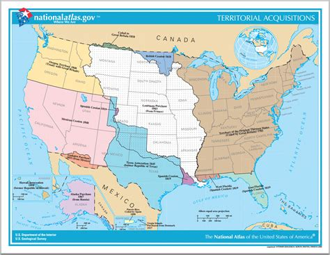 map quiz of the united states territorial acquisitions of the united states since 1783
