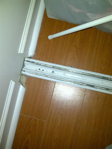 Sliding Mirrored Closet Doors Replacement Track by Sliding Door Bottom Track Pictures To Pin On