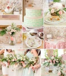 vintage bridal shower decorations ideas