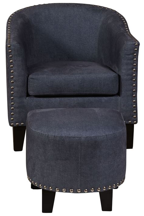 denim ottoman denim vintage accent chair ottoman ds 2278 900 118 pulaski
