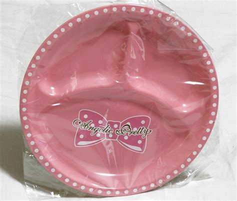 sectioned plates angelic pretty tri section plate tenshi shop