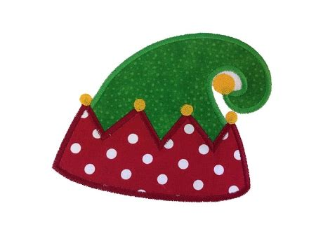 design own xmas hat hat applique machine embroidery design