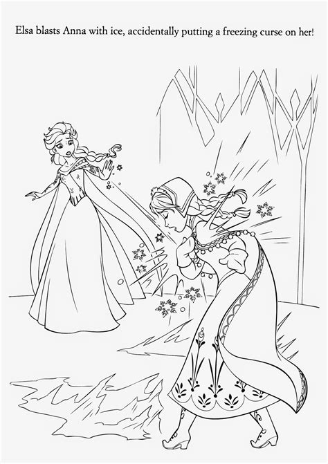 frozen coloring pages elsa ice castle 15 beautiful disney frozen coloring pages free instant