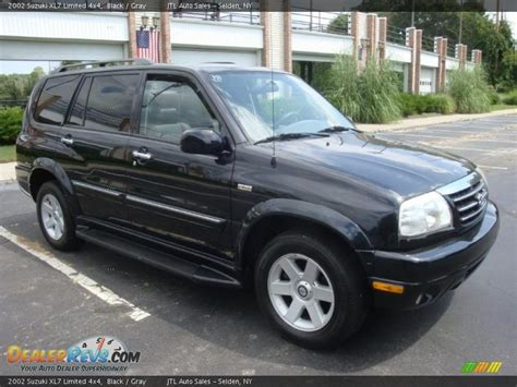 Suzuki Xl7 Limited 2002 Suzuki Xl7 Limited 4x4 Black Gray Photo 8