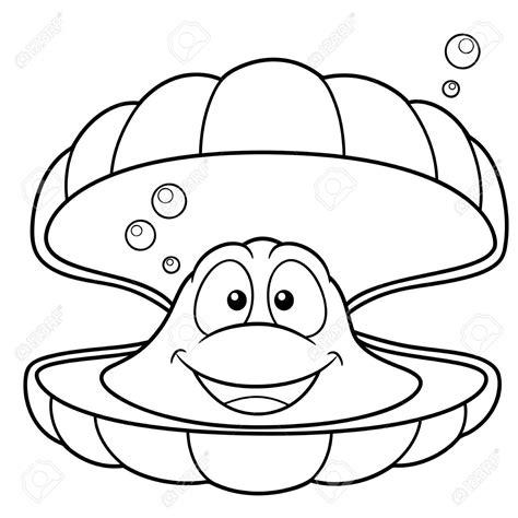 imagenes geniales para colorear ilustraci 243 n vectorial de dibujos animados concha de mar