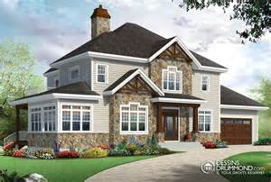 traditional style house plan 4 beds 2 5 baths 2100 sq ft plan 21 290 classique ch 234 tre manoirs ch 226 teaux w3816 v1 maison laprise maisons pr 233 usin 233 es