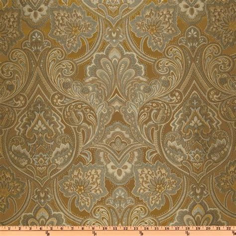 Coral Curtains Eroica Hollyhock Damask Jacquard Cappuccino Discount