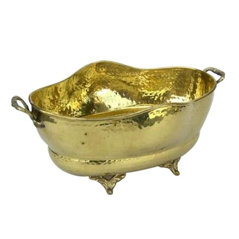 Nautical Planters by Brass Boat Planter Nautical Decor Br2081 By Historical