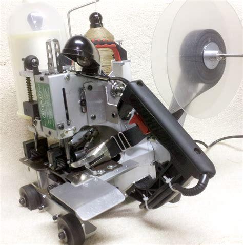 rug binding machine portable bobbinless pbb replacement parts bond products inc