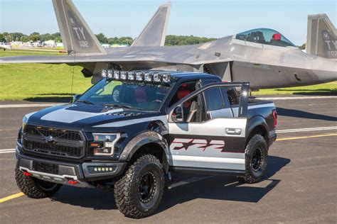 F150 Fighter Jet one ford f 150 raptor inspired by fighter jet