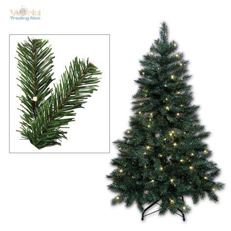 weihnachtsbaum beleuchtet k 252 nstlicher led weihnachtsbaum christbaum mit leds