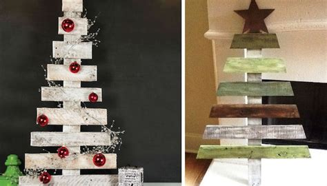 Weihnachtsdeko Mit Paletten by Diy Weihnachtsbaum Aus Paletten Schafft Fr 246 Hliche Stimmung