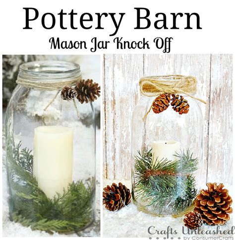 pottery barn inspired decor pottery barn inspired mason jar vase