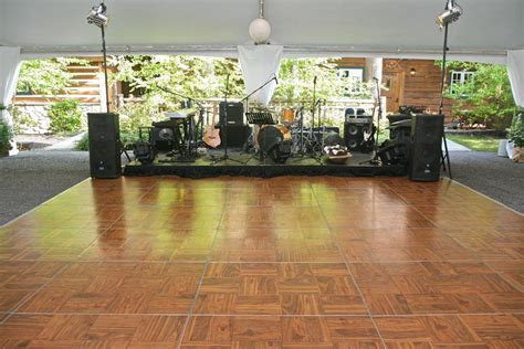 Stage Wood Flooring by Floor Rental Floor Rentals U Set Up In Los