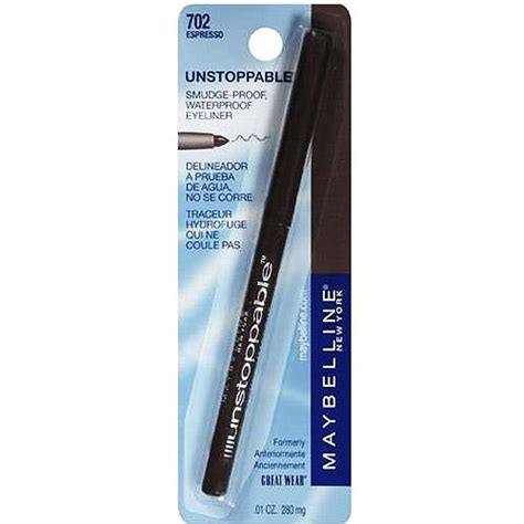 Unstoppable Eyeliner Maybelline maybelline unstoppable eyeliner you choose the color new in package ebay