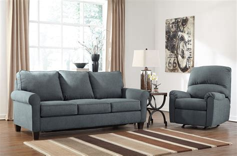 denim living room furniture zeth denim living room set from ashley 2710137 25