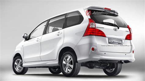 Lu Belakang Avanza New new toyota avanza facelift 2015 akan dibekali mesin baru