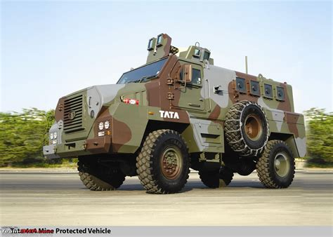 indian army truck tata s defence combat vehicles team bhp